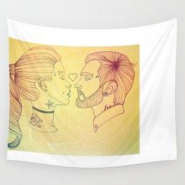 I love tattoos, too Wall Tapestry