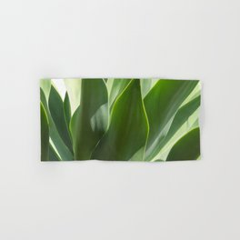 green leaves Hand & Bath Towel