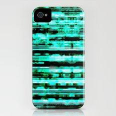 Turquoise iPhone (4, 4s) Slim Case