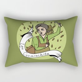 Una Cucarachita Rectangular Pillow