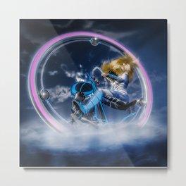 Wind Surfers II (3) Metal Print