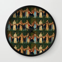 """William Morris, John Henry Dearle """"The Orchard"""" Wall Clock"""