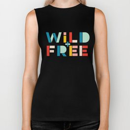 Wild and Free Biker Tank