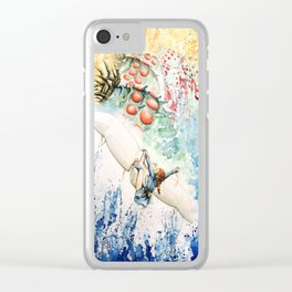 """""""The flying princess"""" Clear iPhone Case"""