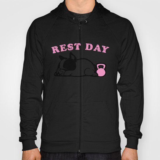 Rest Day Frenchie Hoody