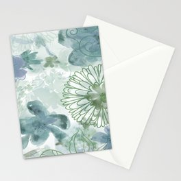 Bouquet of Dreams -- muted Stationery Cards