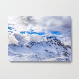 Caucasian ridge Metal Print