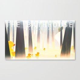 The Bathhouse Canvas Print