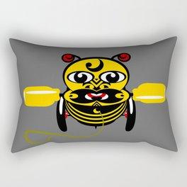 Hei Tiki Bee Toy Rectangular Pillow