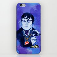johnny depp iPhone & iPod Skins featuring Barnabas Collins - Johnny Depp by Jonboistars