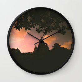 Sacre-Coeur, Paris. Wall Clock