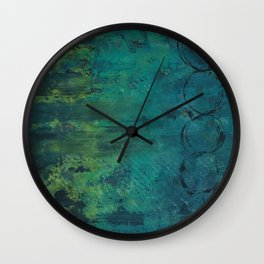 Swamp Fetish Wall Clock