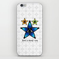 kingdom hearts iPhone & iPod Skins featuring Kingdom Hearts - Wayfinders by Lunil