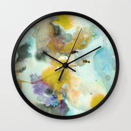 Watercolor Ponds Wall Clock