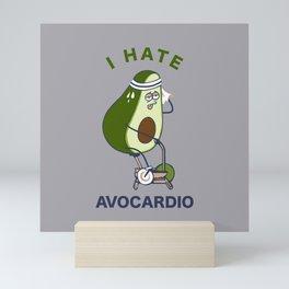 I Hate Avo cardio Mini Art Print