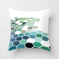 colorado Throw Pillows featuring Colorado by Bakmann Art