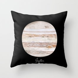 Jupiter #2 Throw Pillow