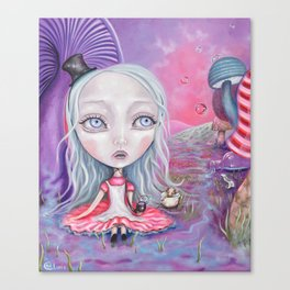 Dreamy Alice Canvas Print