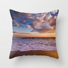 Surf City Sunsets   9/9/15   Huntington Beach California Throw Pillow