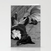 greek Stationery Cards featuring Greek Dogs by Upperleft Studios