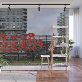 Cola sign at New York City Wall Mural