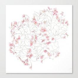 Flors Canvas Print