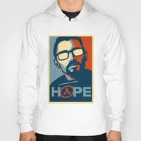 half life Hoodies featuring Half Life Hope by The Strynx