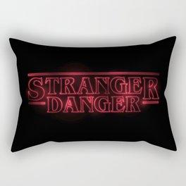 Stranger Danger Rectangular Pillow