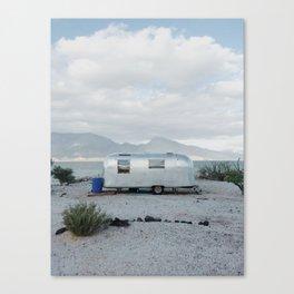 Mexicoast Trailer Life Canvas Print