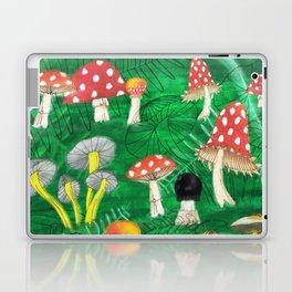 Mushroom Party Laptop & iPad Skin