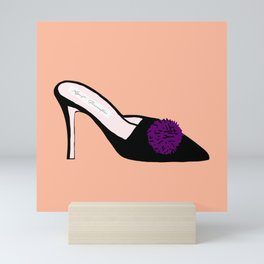 SATC Carrie Bradshaw High Heels Fashion Mini Art Print
