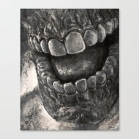 rooster teeth Canvas Prints featuring Teeth by chivalry
