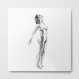 Sleepwalking Metal Print
