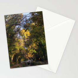 TREE VIGNETTE Stationery Cards