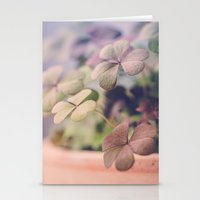 clover Stationery Cards featuring Clover by Juste Pixx Photography