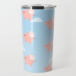 When Pigs Fly Travel Mug