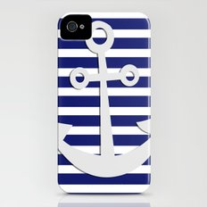 Hipster Sailing iPhone (4, 4s) Slim Case
