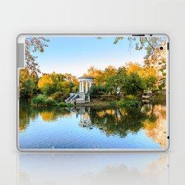 Autumn park Laptop & iPad Skin