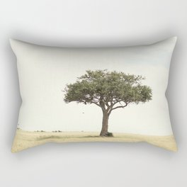 tree hugger::kenya Rectangular Pillow