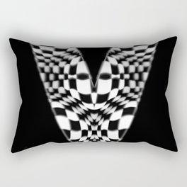 V Rectangular Pillow