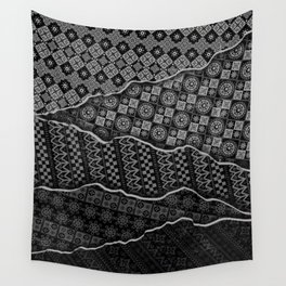 Pattern Madness Wall Tapestry