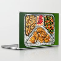 eat Laptop & iPad Skins featuring Eat Me by Rachel Caldwell