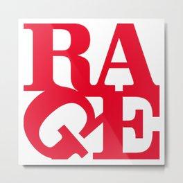 rage against the machine logo 2020 Metal Print