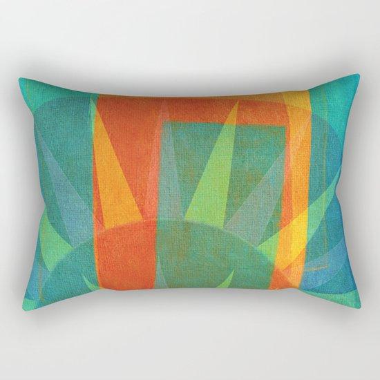Una Allegri Domenica  Rectangular Pillow