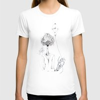 ballon T-shirts featuring Monsieur Grant et le ballon fou by MARIE.MARYE