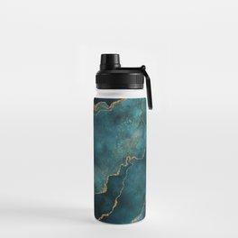 Golden Gemstone Glamour Mineral Water Bottle