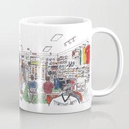 soccer and lifestyle, davis Coffee Mug