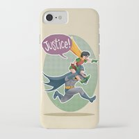 justice iPhone & iPod Cases featuring JUSTICE! by stoopz