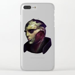 Mass Effect: Thane Krios Clear iPhone Case