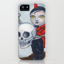Head Banger - Carnival Sideshow Freak iPhone Case